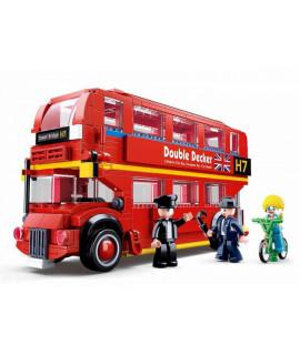 Конструктор Двухэтажный автобус SLUBAN M38-B0708