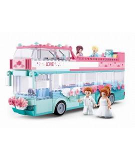 Конструктор Sluban Свадебный автобус M38-B0769