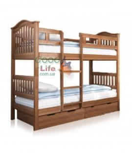 Детская двухъярусная кровать Максим под матрас 200х90 см