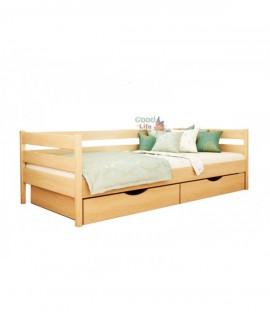 Детская подростковая кровать Нота 190х80 (200х90)