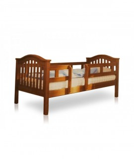 Детская подростковая кровать Максим 200х90 ВЯ с ограждением