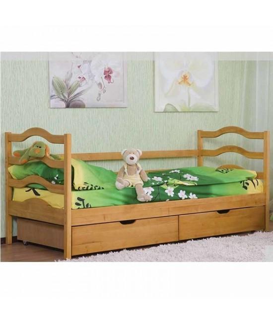 Детская подростковая кровать София 190х80 с задним бортиком