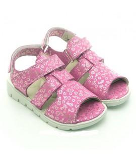 Босоножки детские Берегиня 0932 розовый блеск