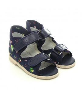 Ортопедические тапочки детские Берегиня 0123 синие