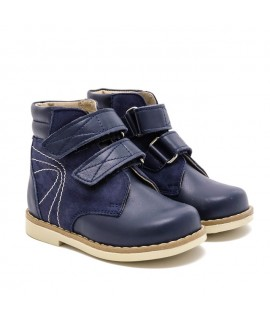 Ортопедические ботинки детские Берегиня 1113 синие