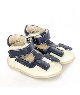 Туфли детские Берегиня 2613 белый с синим