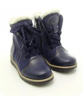 Ботинки детские зимние Берегиня 1315 синие
