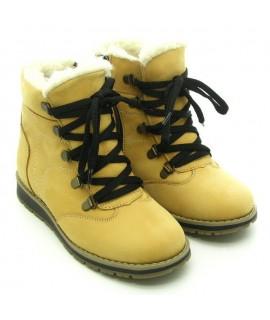 Ботинки детские зимние Берегиня 2025 рыжий