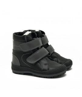 Ботинки детские зимние Берегиня 2718 нубук черный