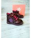 Ботинки детские демисезонные Bi&Ki 3937F бордовые