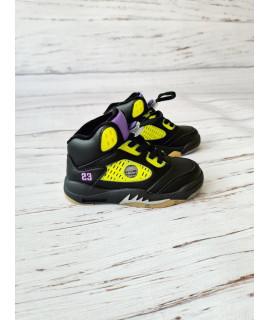 Ботинки хайтопы детские демисезонные Jong Golf B30193-0 черные