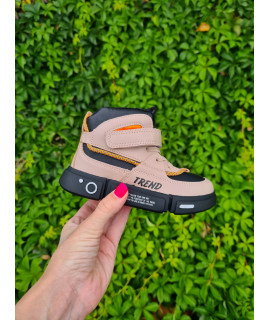 Ботинки хайтопы детские демисезонные Jong Golf B30223-6 пудра