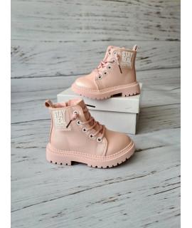 Ботинки детские демисезонные Bbt R5277-3 розовые
