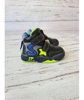 Ботинки детские демисезонные Bbt R5877-1 черные