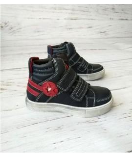 Ботинки детские демисезонные Bessky B81330-1 черные