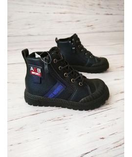 Ботинки детские демисезонные Bessky HY9952-3 синие