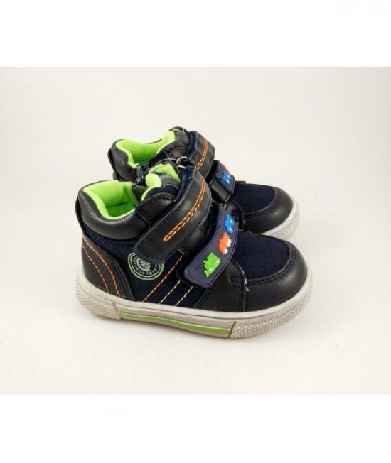 Ботинки детские демисезонные Clibee F712 blue-green