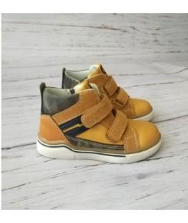 Ботинки детские демисезонные Clibee P360 рыжие