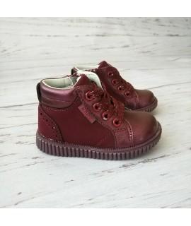 Ботинки детские демисезонные Clibee P364 бордовые