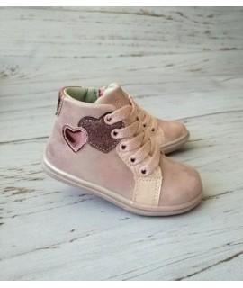 Ботинки детские демисезонные Clibee P365 розовые