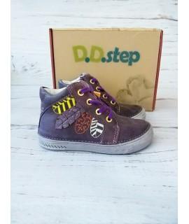Ботинки детские демисезонные D. D. Step 040-442 лаванда