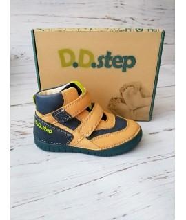 Ботинки детские демисезонные D. D. Step 050-6A рыжие