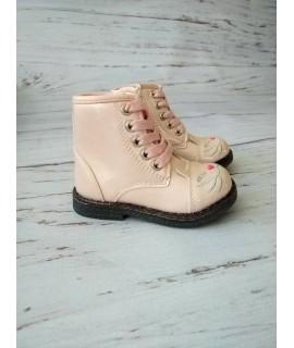 Ботинки детские демисезонные С.Луч А09-2 розовые