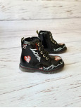 Ботинки детские демисезонные С.Луч Q111-2 черные