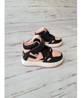 Ботинки хайтопы детские демисезонные W.Niko AG456-5 черные