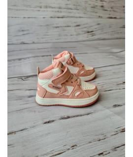 Ботинки Хайтопы детские демисезонные W.Niko AG456-6 пудра