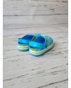 Кроксы сабо Luckline 3003-253 голубые