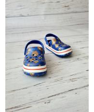 Кроксы сабо Luckline 3006-256 синие