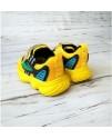 Кроссовки детские Alessio 1001P желтые