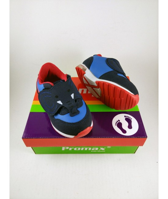 Кроссовки детские Promax 1366-3 синий с красным