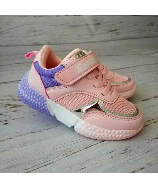 Кроссовки детские Violeta 200-32K розовые