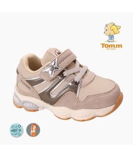 Кроссовки детские Tom.m 5039D бежевые