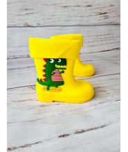 Резиновые сапоги детские BBT M5070-6 желтые