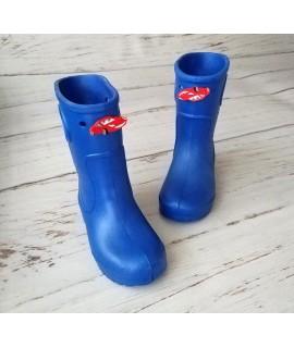 Резиновые сапоги детские Jose Amorales 116601 синие