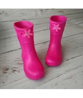 Резиновые сапоги детские Jose Amorales 116611 розовые с морской звездой