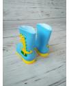 Резиновые сапоги детские BBT H2998-3 голубые