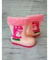 Резиновые сапоги детские BBT H2998-5 розовые