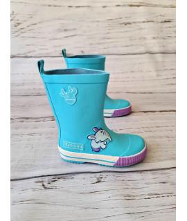 Резиновые сапоги детские Hemuyu HMY210 голубые