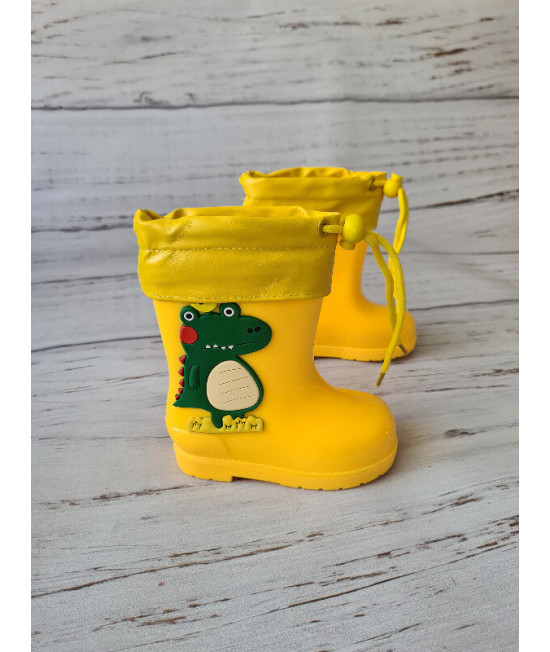 Резиновые сапоги HMY217-1 yellow желтые