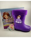 Резиновые сапоги детские Disney J08 фиолетовый