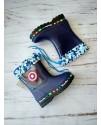 Резиновые сапоги детские BBT M1183-1 синие