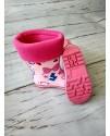 Резиновые сапоги детские BBT M1195-1 розовые