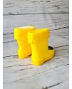 Резиновые сапоги детские BBT M5071-6 желтые