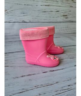 Резиновые сапоги детские BBT M5073-3 розовые