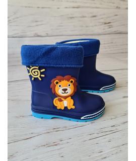 Резиновые сапоги детские BBT M5075-1 синие