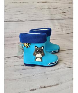Резиновые сапоги детские BBT M5075-3 голубые